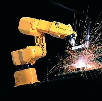 Foto de Robot de soldadura por arco