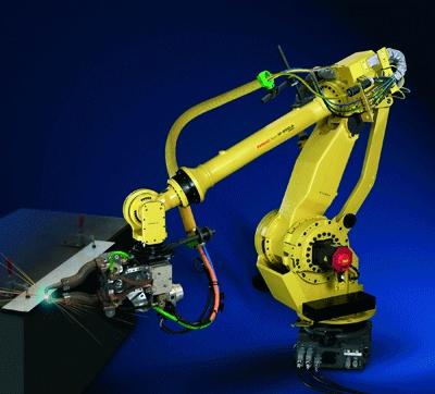 Foto de Robots para soldadura por puntos