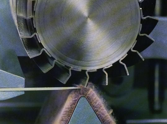 Foto de Cilindros completos, cuchillas planas y espirales para tundosas