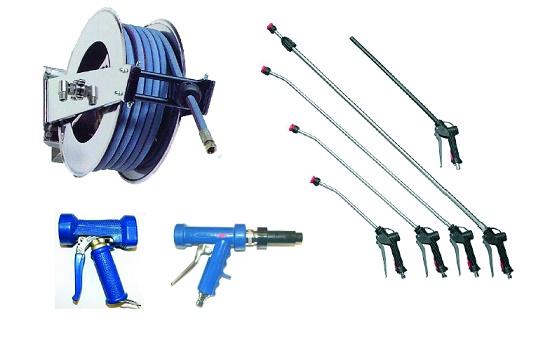 Foto de Pistolas, lanzas y accesorios