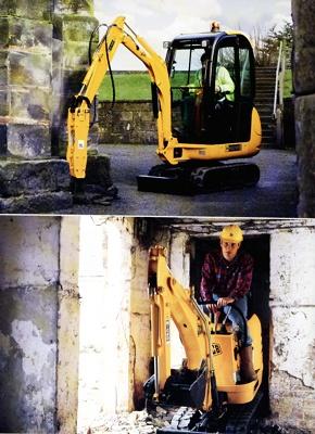 Foto de Excavadora de cadenas