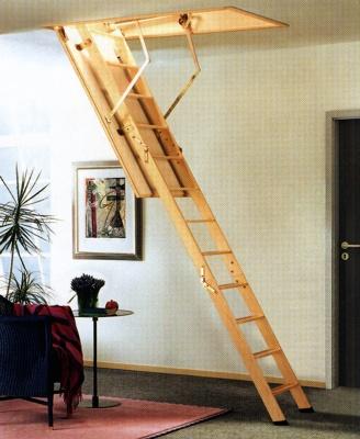 Escalera escamoteable maydisa cadet 3 iso materiales for Escaleras modernas para espacios pequenos