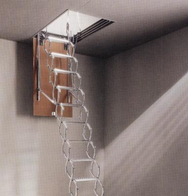 Escalera de tijera maydisa zx de techo materiales para - Escaleras de techo ...