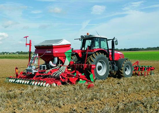 Foto de Tractor de altas prestaciones