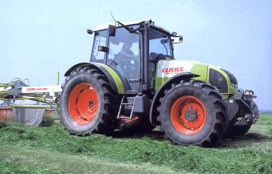 Foto de Tractor versátil y potente