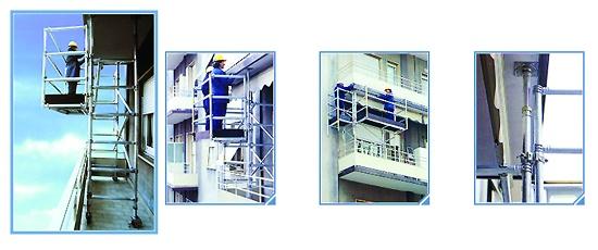 Foto de Andamios para balcones