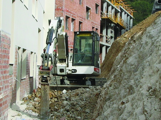 Foto de Excavadora