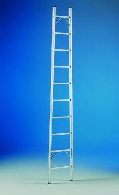 Foto de Escalera de aluminio nervado