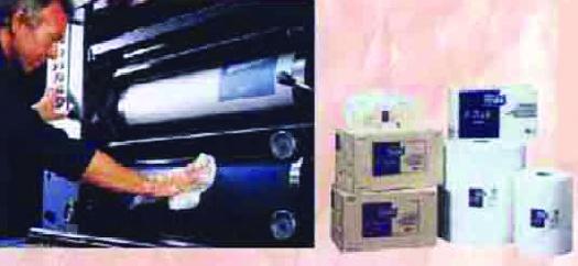 Foto de Paño para limpiar máquinas offset