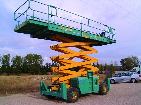 Foto de Plataforma elevadora de tijera