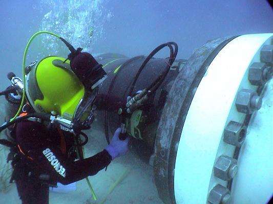 """Foto de """"Tuberías submarinas"""""""