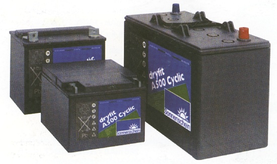 Foto de Baterías de plomo herméticas