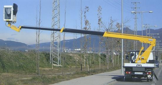 Foto de Plataforma aérea
