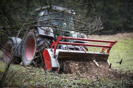 Foto de Trituradora forestal de doble tracción