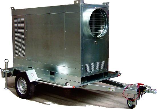 Foto de Generadores de aire caliente