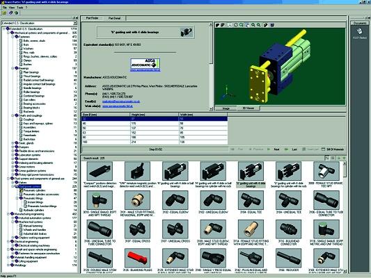 Foto de Biblioteca de piezas para CAD