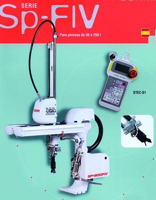 Foto de Robots para inyectoras