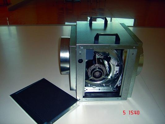 Foto de Cabina de extracción de gases