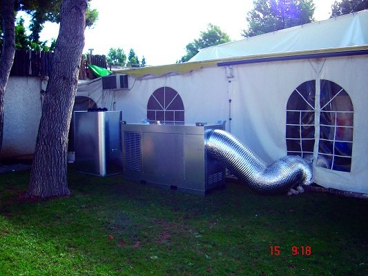 Foto de Generadores de aire caliente portátiles