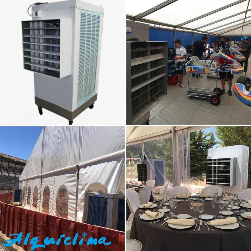 Foto de Equipos de aire acondicionado y refrigeración industrial evaportiva