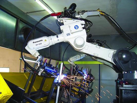 Foto de Robot de soldadura para aluminio