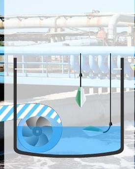 Foto de Boyas de nivel con flotador