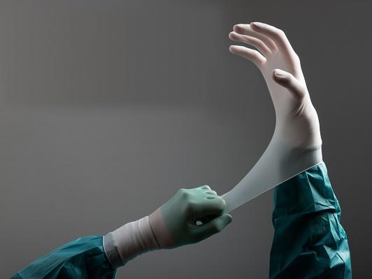 Foto de Guantes sintéticos de cirugía