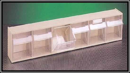 Foto de Cajones basculantes transparentes