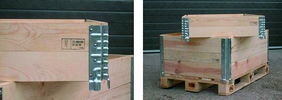 Foto de Módulos y cercos de madera plegables