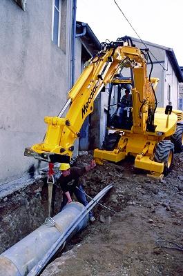 Foto de Cargadoras - excavadoras