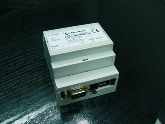 Foto de Convertidor de Ethernet a RS232-485