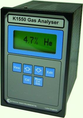 Foto de Analizador de gases por sistema catarométrico