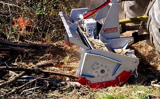 Foto de Trituradora forestal de martillos
