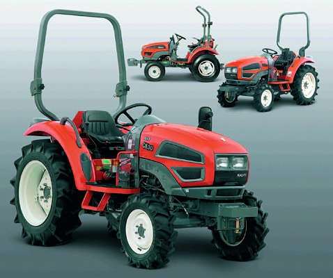 Foto de Tractor de 21 CV de potencia