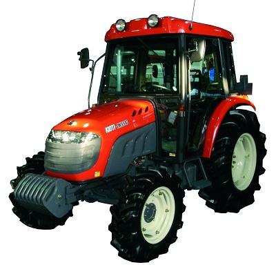 Foto de Tractor de 57 CV de potencia