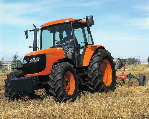 Foto de Tractor agrícola