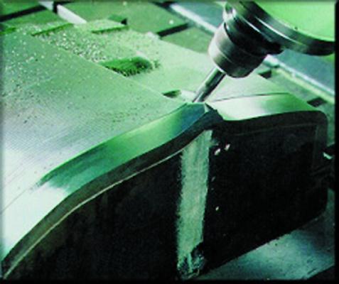 Foto de Sistema de mecanizado a alta velocidad