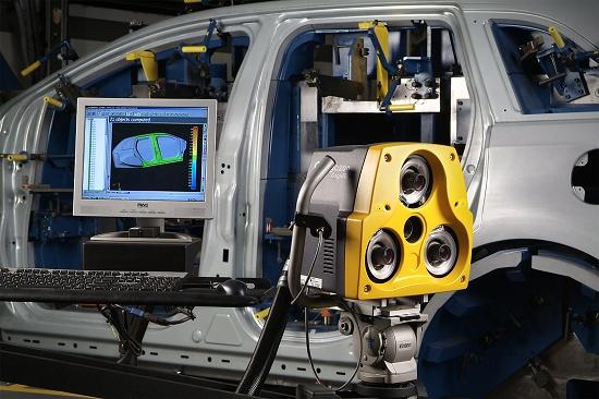 Foto de Digitalización y medición óptica en 3D