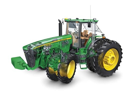 Foto de Tractor con sistema de inyección 'common rail'