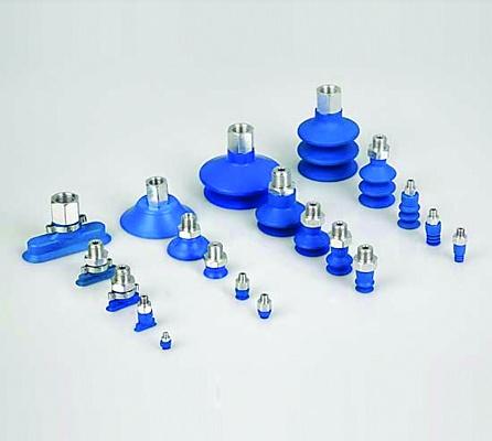 Foto de Ventosas HT1 para manipulación de piezas de inyección de plástico