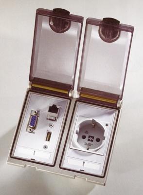 Foto de Conector frontal para cuadros eléctricos