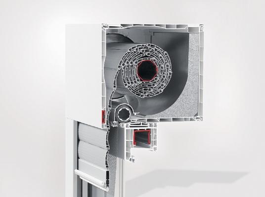 Foto de Sistema de cajón de persiana