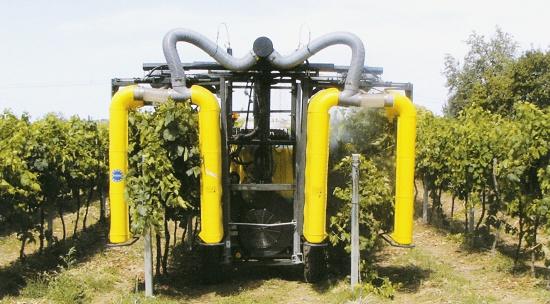 Foto de Pulverizador de recuperación para viñedo