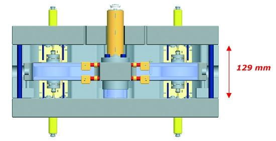 Foto de Sistema para molde tipo sándwich con válvulas de obturación