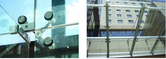 Foto de Sistema de sujeción de vidrio