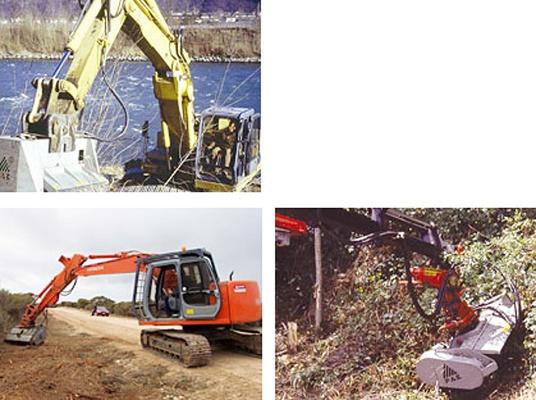 Foto de Trituradora para excavadoras