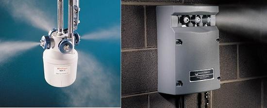 Foto de Equipos de humidificación por atomización