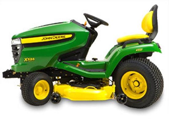 tractores de jard n john deere x534 jardiner a