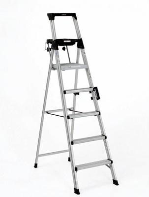 Foto de Escalera de tijera en aluminio