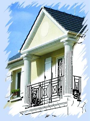 Decoraci n de fachadas materiales para la construcci n - Materiales de construccion para fachadas ...